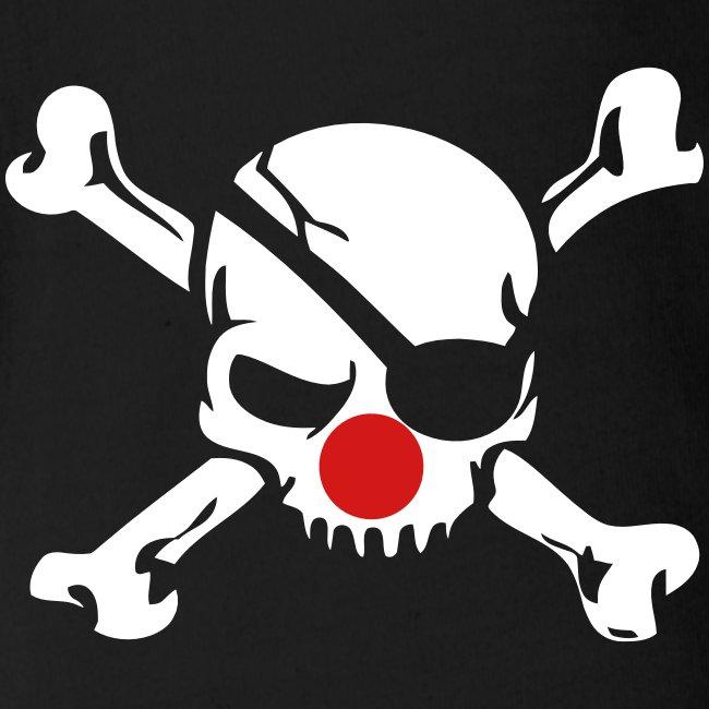 Clown Jolly Roger Pirate