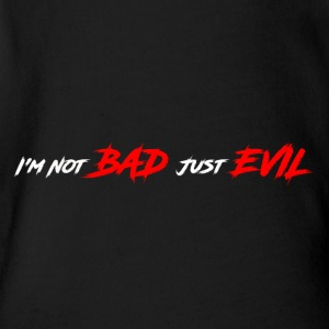 Just Evil - Short Sleeve Baby Bodysuit