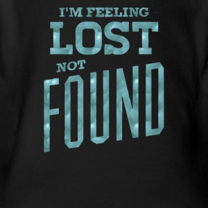 I'm feeling lost not found - Short Sleeve Baby Bodysuit
