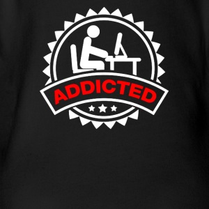 Addicted Men - Short Sleeve Baby Bodysuit