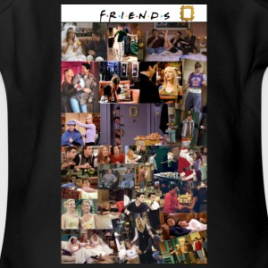 FRIENDS - Short Sleeve Baby Bodysuit