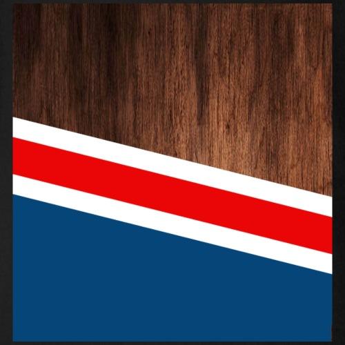 Wooden stripes - Organic Short Sleeve Baby Bodysuit