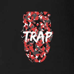 SUPLEXE KID TRAP RED CAMO - Short Sleeve Baby Bodysuit