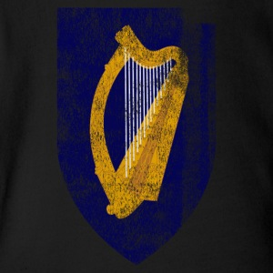 Irish Coat of Arms Ireland Symbol - Short Sleeve Baby Bodysuit
