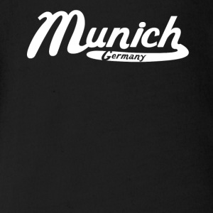 Munich Germany Vintage Logo - Short Sleeve Baby Bodysuit