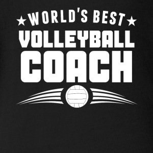 World's Best Volleyball Coach - Short Sleeve Baby Bodysuit