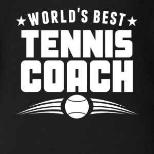 World's Best Tennis Coach - Short Sleeve Baby Bodysuit