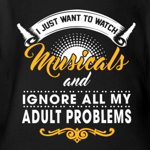 Watch Musicals. - Short Sleeve Baby Bodysuit