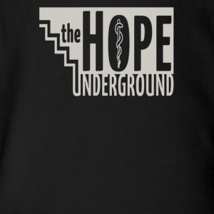 The hope underground - Short Sleeve Baby Bodysuit