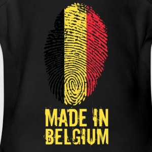 Made In Belgium / Belgien / Belgique / België - Short Sleeve Baby Bodysuit