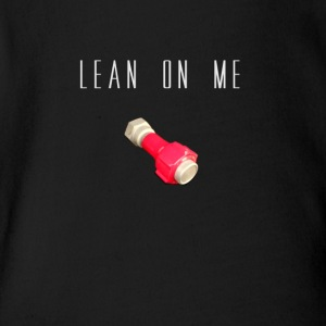 LEAN ON ME CESSNA - Short Sleeve Baby Bodysuit