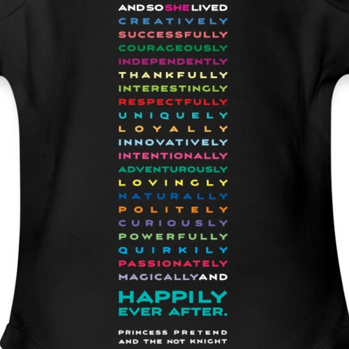 words with ppnk - Organic Short Sleeve Baby Bodysuit