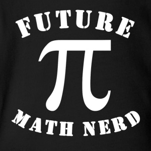 Future Math Nerd - Short Sleeve Baby Bodysuit