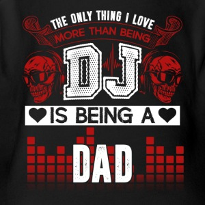 DJ Dad Shirt - Short Sleeve Baby Bodysuit