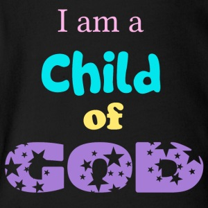 I am a child of god - Short Sleeve Baby Bodysuit