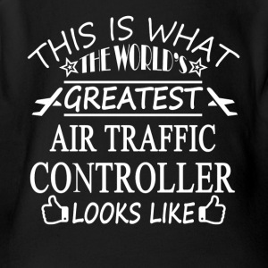 Air Traffic Controller Tee Shirts - Short Sleeve Baby Bodysuit