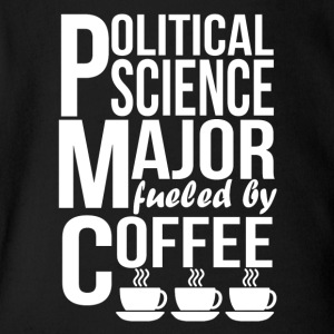 Political Science Major Fueled By Coffee - Short Sleeve Baby Bodysuit