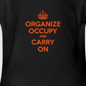 OCCUPY WALL STREET - Short Sleeve Baby Bodysuit