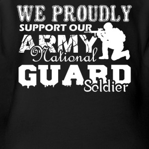 Army National Guard Soldier Shirt - Short Sleeve Baby Bodysuit