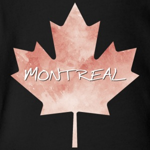 Maple Leaf Montreal - Short Sleeve Baby Bodysuit