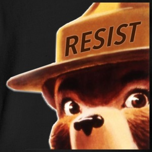 smoky says resist - Short Sleeve Baby Bodysuit