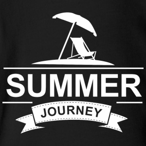 Summer Journey - Short Sleeve Baby Bodysuit