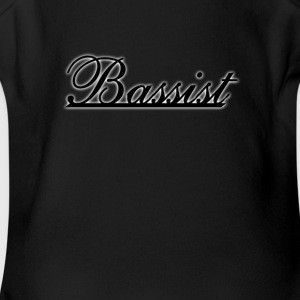 Bassist - Short Sleeve Baby Bodysuit