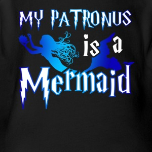 My Patronus Mermaid Tshirt - Short Sleeve Baby Bodysuit