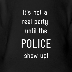 Police Party - Short Sleeve Baby Bodysuit