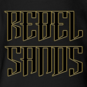 REBEL SANDS Tee - Short Sleeve Baby Bodysuit