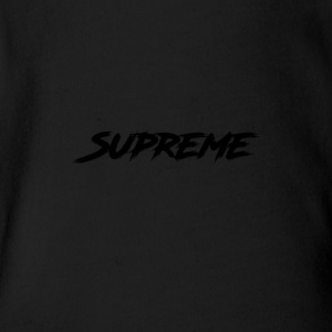 Supreme - Short Sleeve Baby Bodysuit