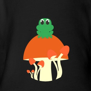 froggy - Short Sleeve Baby Bodysuit