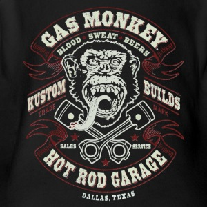 GAS MONKEY LOGO - Short Sleeve Baby Bodysuit