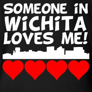 Someone In Wichita Kansas Loves Me - Short Sleeve Baby Bodysuit