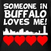 Someone In Buffalo New York Loves Me - Short Sleeve Baby Bodysuit