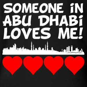 Someone In Abu Dhabi Loves Me - Short Sleeve Baby Bodysuit