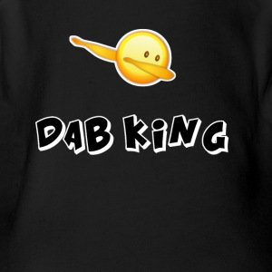 dab emojiiking dabbing football touchdown mooving - Short Sleeve Baby Bodysuit