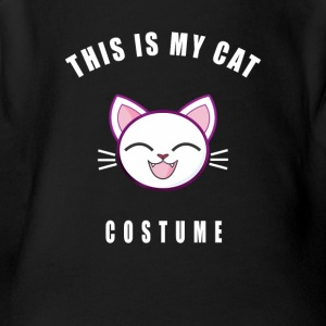 costume cat kitty carneval cute baby pink manga co - Short Sleeve Baby Bodysuit