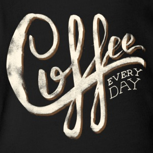Coffee everyday - Short Sleeve Baby Bodysuit