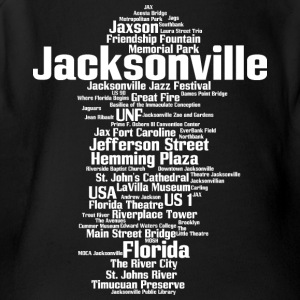 Jacksonville (Florida, USA, The River City) - Short Sleeve Baby Bodysuit
