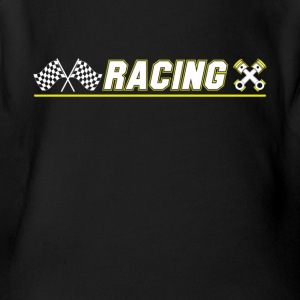 Cool Graphic Racing Tee Shirts - Short Sleeve Baby Bodysuit