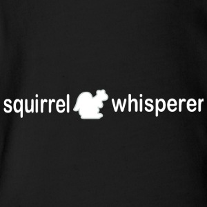 Squirrel whisperer - Short Sleeve Baby Bodysuit