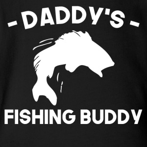 Daddy's Fishing Buddy - Short Sleeve Baby Bodysuit