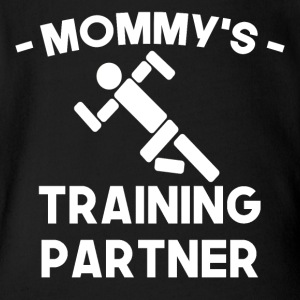 Mommy's Training Partner - Short Sleeve Baby Bodysuit