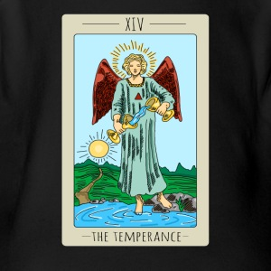 The Temperance Tarot Card Tee Shirt - Short Sleeve Baby Bodysuit