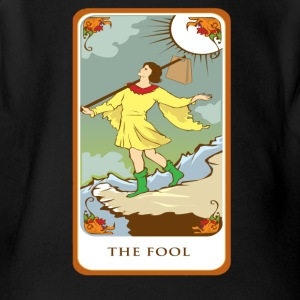 The Fool Tarot Card Tee Shirt - Short Sleeve Baby Bodysuit