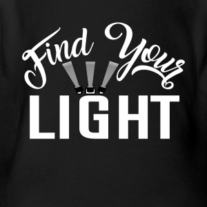 Find Your Light Acting Actor Tee Shirt - Short Sleeve Baby Bodysuit