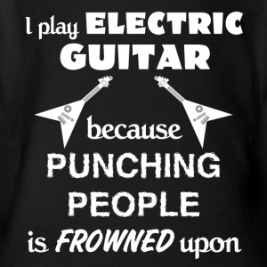 Electric Guitar Love Gift- cool shirt,geek hoodie - Short Sleeve Baby Bodysuit