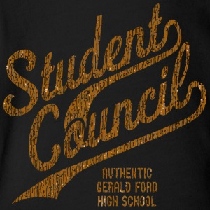 Student Council AUTHENTIC GERALD FORD HIGH SCHOOL - Short Sleeve Baby Bodysuit