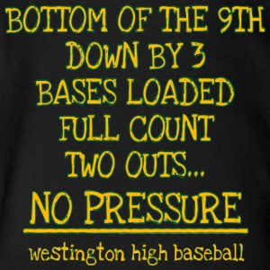 westington high baseball - Short Sleeve Baby Bodysuit
